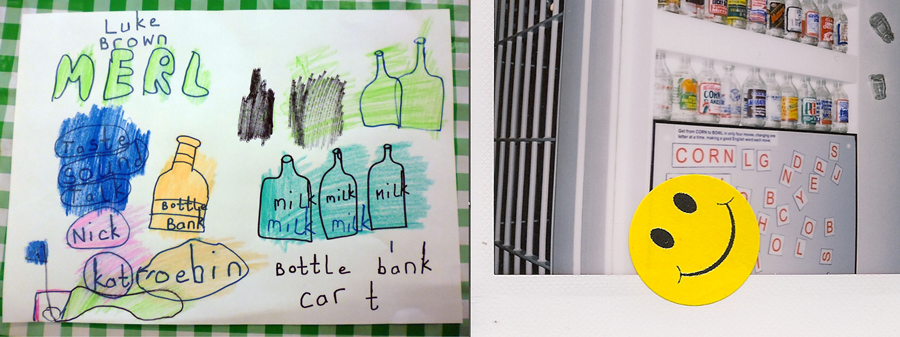 Luke picture of Milk bottles