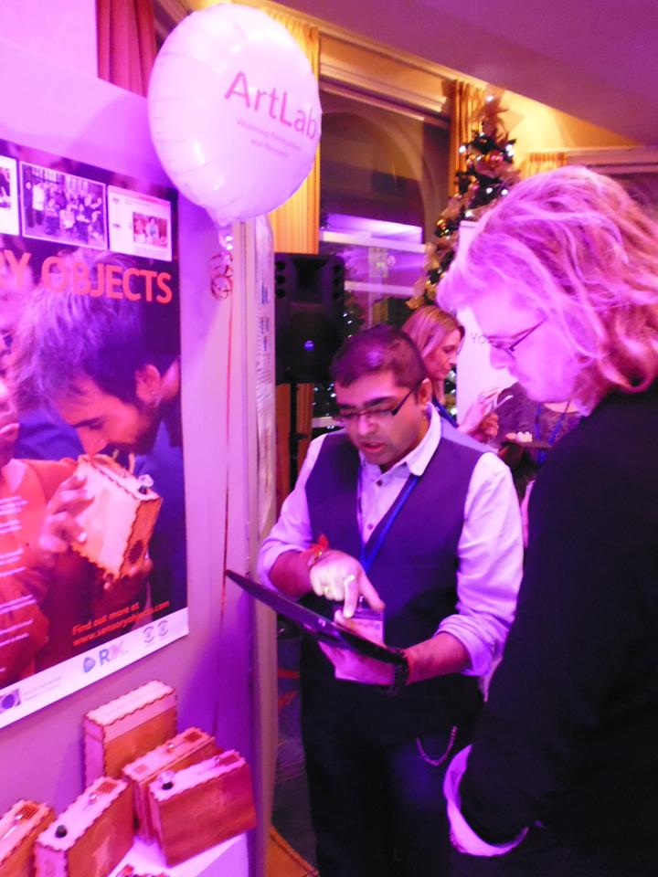 Ajay shows Wiki