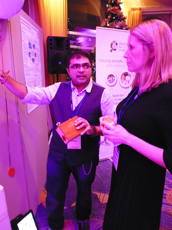 Ajay Talks to Researcher