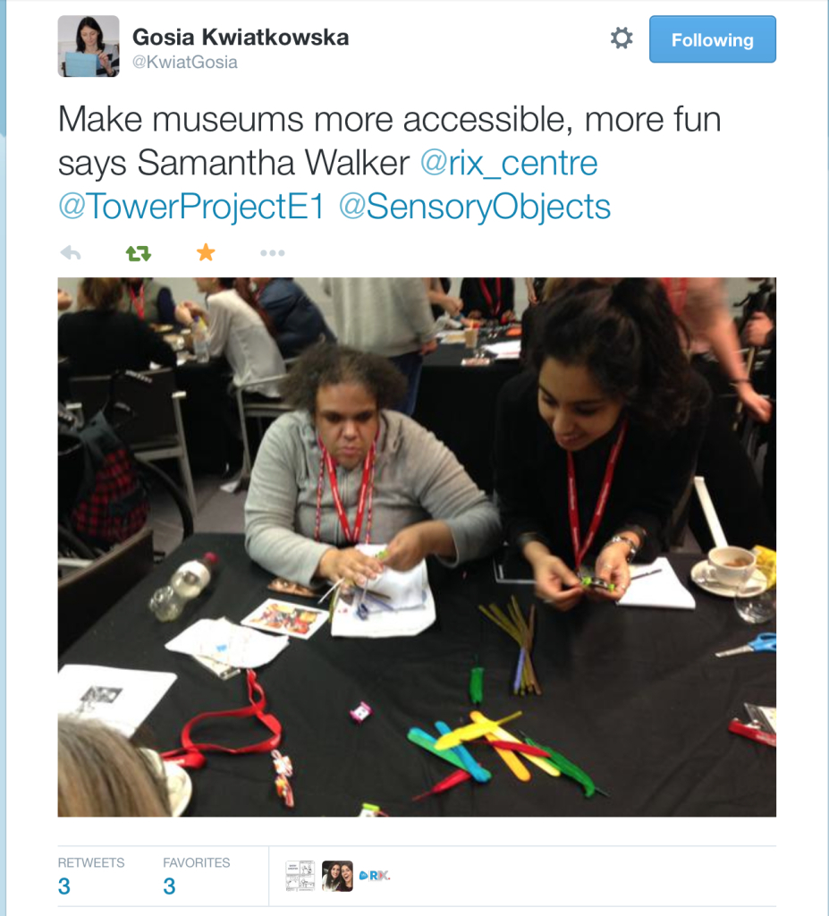 Sam says Make museums more accessible