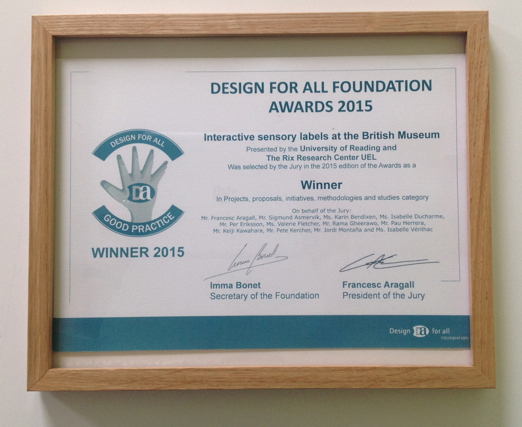 Design for All Foundation Certificate