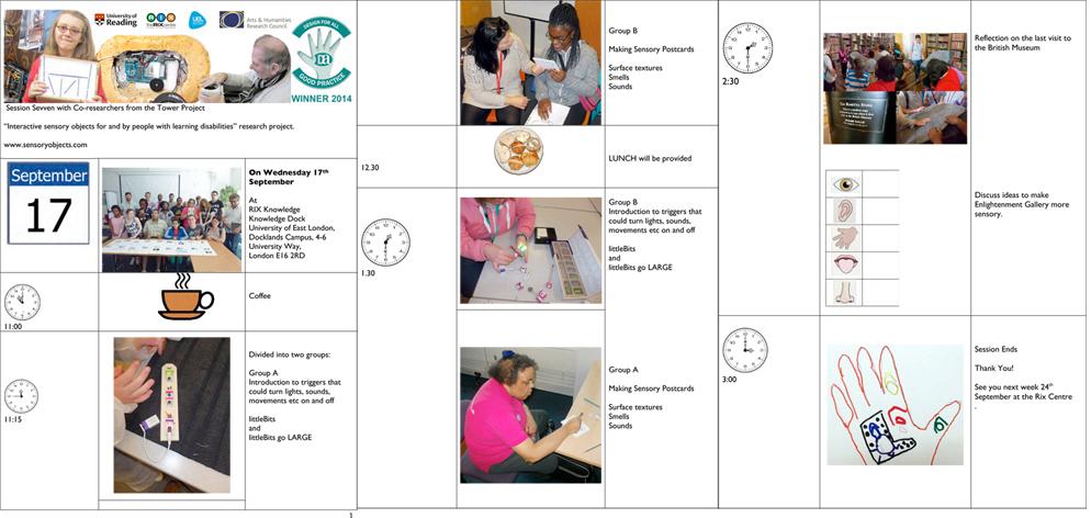 Tower project Workshop SEVEN programme