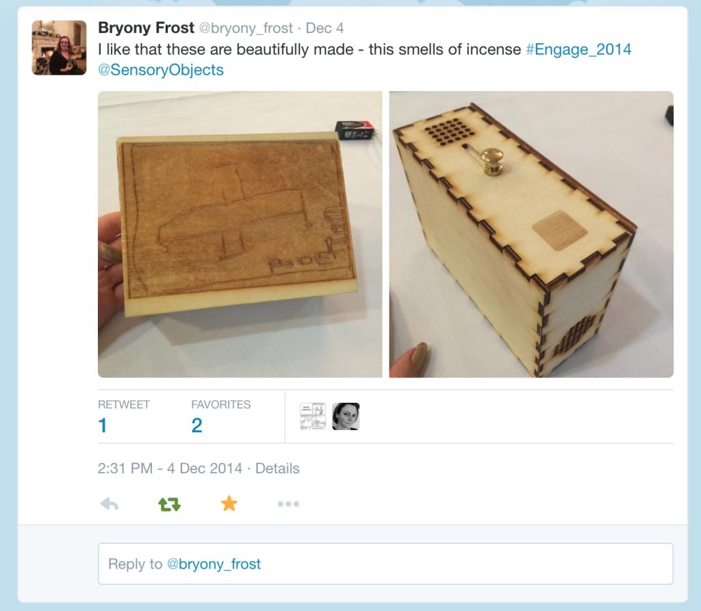 Tweet of Tim's Box