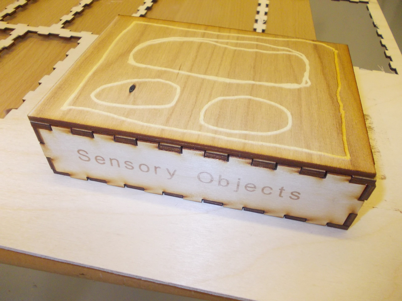 sensory object box